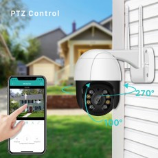 2MP 1080P PTZ Wifi IP Camera, 4X Digital Zoom, Outdoor Wireless Camera
